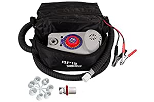 Bravo BP12 Single Stage Electric Pump for Inflatable SUPs, Kayaks annd Boats