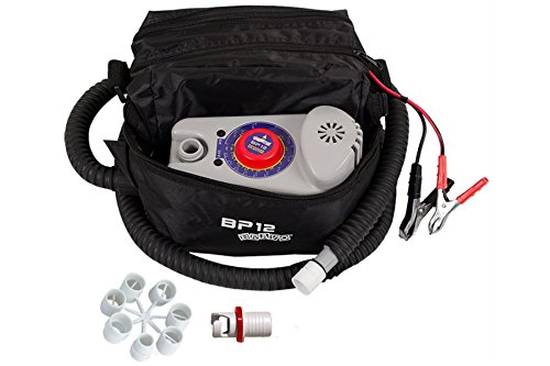Bravo! BP12 Single Stage Electric Pump for Inflatable SUPs, Kayaks annd Boats