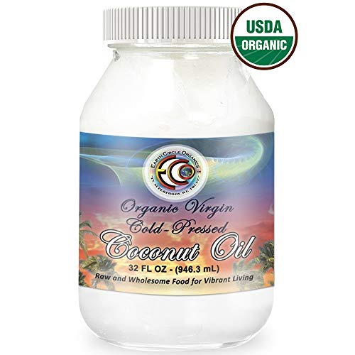 Earth Circle Organics Extra Virgin Coconut Oil, Cold Pressed for Baking, Cooking Smoothies, Skin Care, Gluten-Free and Vegan 32oz by Earth Circle Organics (Image #9)