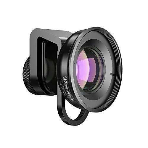 Ocamo HD Long-Range Shooting Large Focus Range External Mobile Phone Macro Lens for Insect Flower Jewelry (Best Macro Lens For Insects)