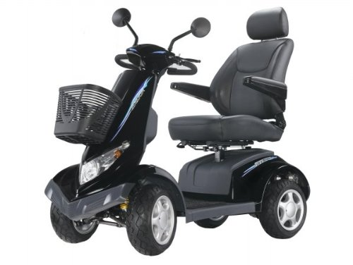 Heartway Medical Products S8 Aviator Power Scooter - Black
