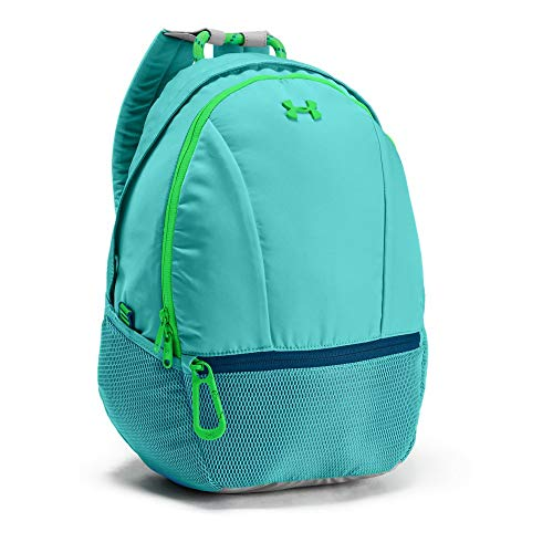 Under Armour Girls' Downtown Backpack, Tropical Tide (425)/Arena Green, One Size ()