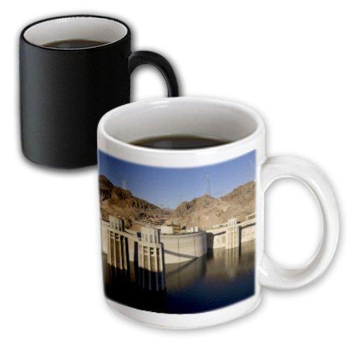 Level Mead Water Lake (3dRose (mug_92240_3) Low water levels at the Hoover Dam, Lake Mead, NV - US29 MPR0048 - Maresa Pryor - Magic Transforming Mug, 11oz)