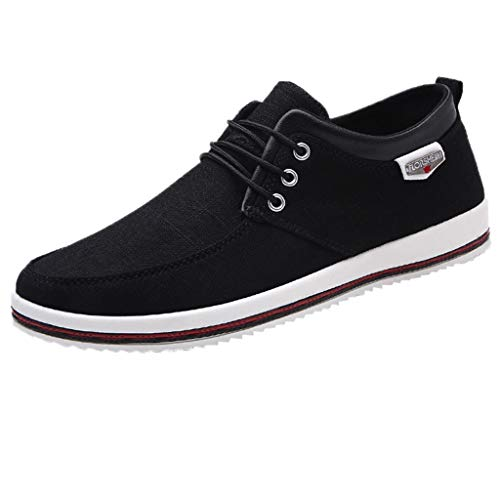 - HULKAY Men's New Shoes Casual Large Size Handmade Loafers Shoes for Men(Black,US:7/CN:40)