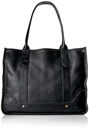 FRYE Campus Shopper Tote Handbag,Black,One Size