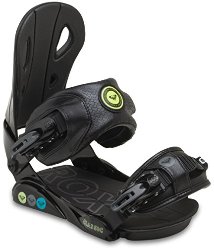 Roxy Classic Snowboard Binding 2015, Black, S/M by Roxy