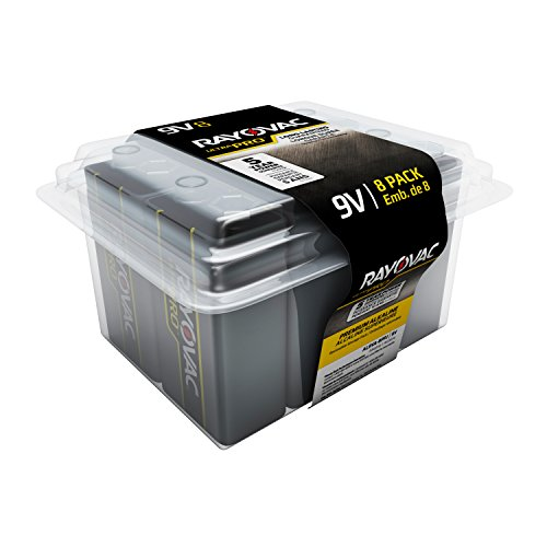 Rayovac UltraPro Batteries Recloseable AL9V 8