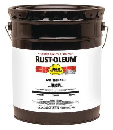 Rust-Oleum 641300 Clear Paint Thinner, 5 gal Bucket