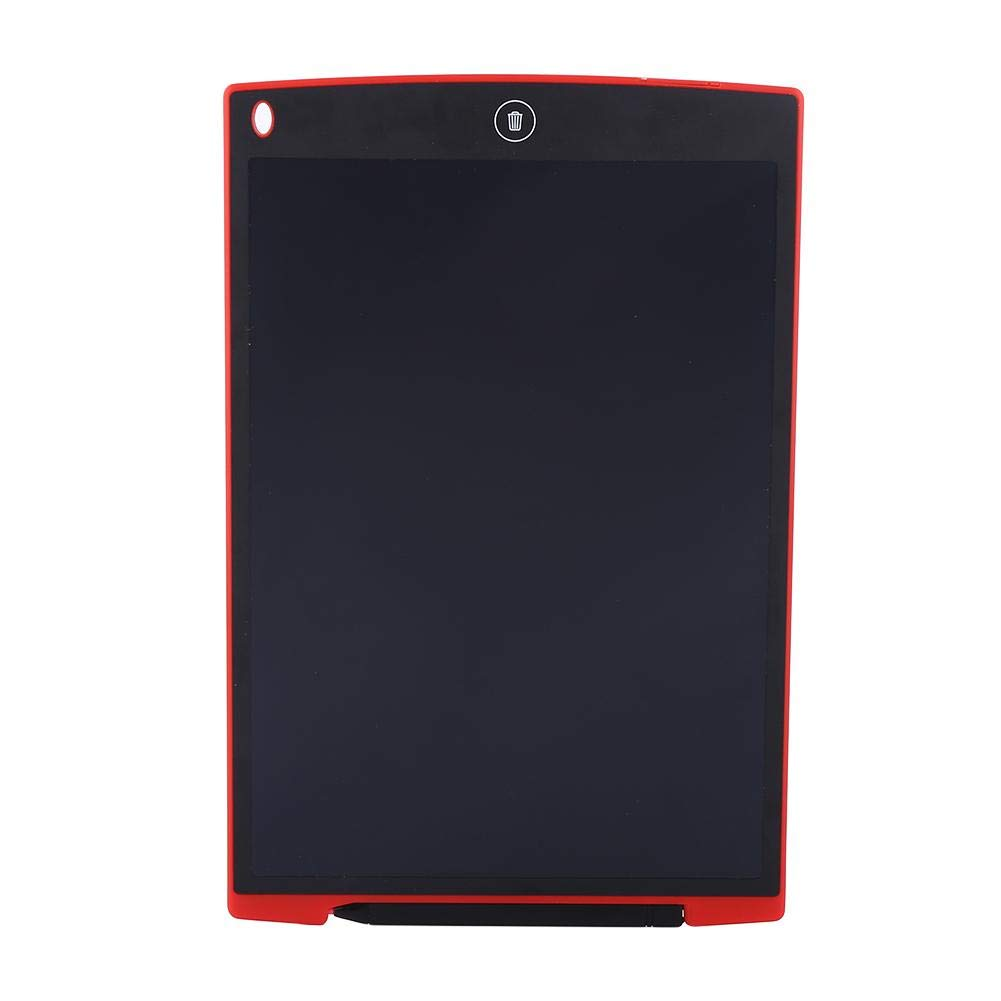Digital Portable Mini LCD Tablet Drawing Board, Kids and Adults at Home, School and Work Office(12 Inch, red&Green)(Red) Wal front