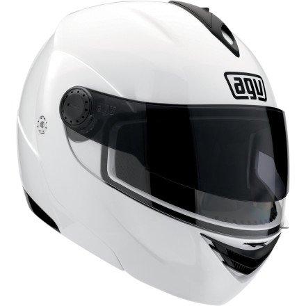 2013 AGV Miglia Modular 2 Motorcycle Helmets - WHITE SM