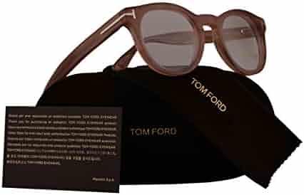 fabd69d16ff Tom Ford FT5489 Eyeglasses 48-22-145 Pink Transparent w Demo Clear Lens
