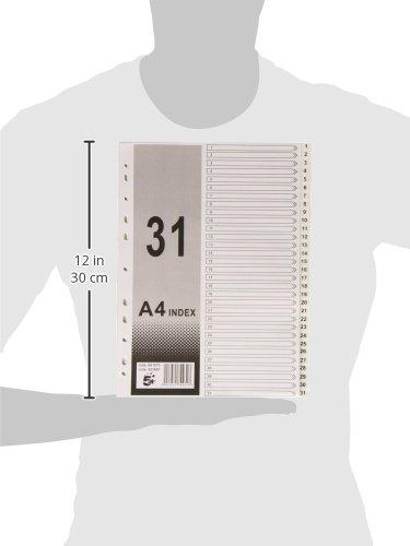 5 Star 423687 Numerischer Separator 31 Stellungen Pultordner