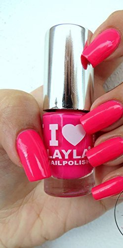 I LOVE LAYLA NEON NAGELLACK - LIGHT PINK FLUO