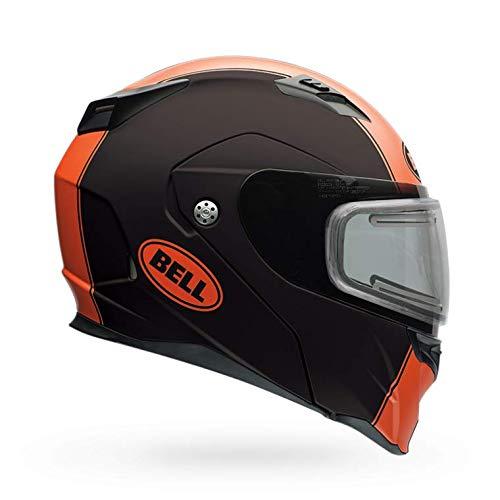 Bell Revolver Evo Electric Shield Snow Helmet (Matte Rally Orange, Medium)