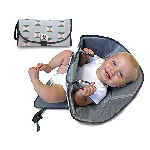 SnoofyBee Portable Clean Hands Changing Pad. 3-in-1 Diaper Clutch, Changing...