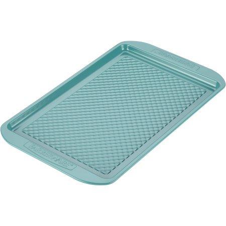 Farberware PureCook Hybrid Ceramic Nonstick Bakeware Baking Sheet and Cookie Pan, 10 inch x 15 inch - Aqua