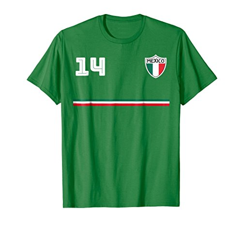 Mexico T-shirt Mexican Jersey Style Soccer Football Futbol