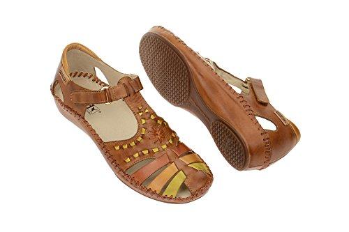 Pikolinos Femmes Sandalettes brun, (braun-kombi) VALLARTA 655-1504 B