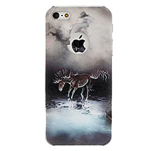 Horse Pattern Hard Case for iPhone 5/5S