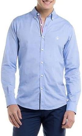 Camisa El Ganso Oxford Azul 43 Azul: Amazon.es: Ropa y accesorios