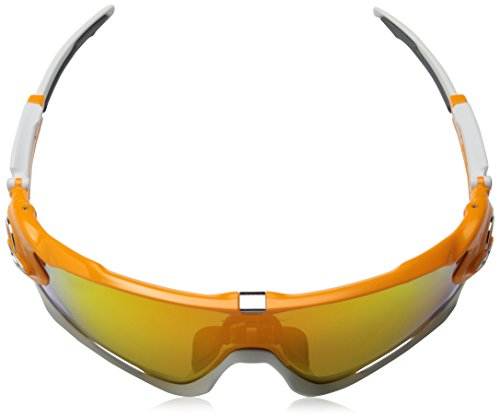 Sport Iridium de Jawbreaker Lunettes Fire Oakley Atomic Orange Polarized Uq7H4