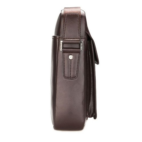Zicac Men'S Genuine Leather Shoulder Messenger Bag 12