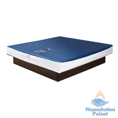 Premium Comfort Wasserkern Wasserbettmatratze für RWM AQUA CLASSIC - für Bettgröße 160x200 cm - Bettaufbau  Solo - schräger Softrahmen  innen keilförmig - Höhe innen  20-23 cm - Beruhigungsstufe 90%   F6