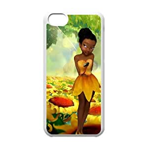 Tinkerbell Iridessa E9P69J6SK funda iPod Touch 6 caso funda S3WYC2 blanco