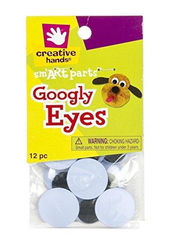 Creative Hands Googly Eyes, -