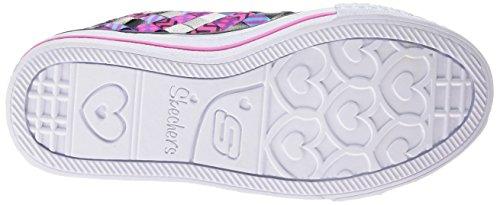 skechers - 10455L - Chaussures De Tennis, bkhp, taille 33
