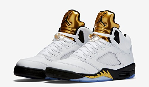 low priced d1af0 1543b Air Jordan 5 Retro Olympic (Gold Metal) 136027-133 August 20, 2016 Release  Men s Size (10). by nike