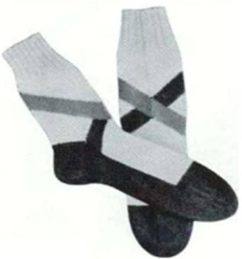 Knitting Pattern For Ski Socks : #1669 SKI SOCKS WITH CROSS BANDS VINTAGE KNITTING PATTERN - Kindle edition by...