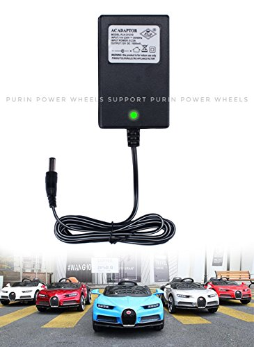 12V Universal Charger Adapter for Kids Power Wheels RC Car Hello Kitty SUV Ferrari Lamborghini Mercedes-Benz Audi Land Rove BMW i8 Children Electric Ride-On Toys Battery Power Supply Replacement