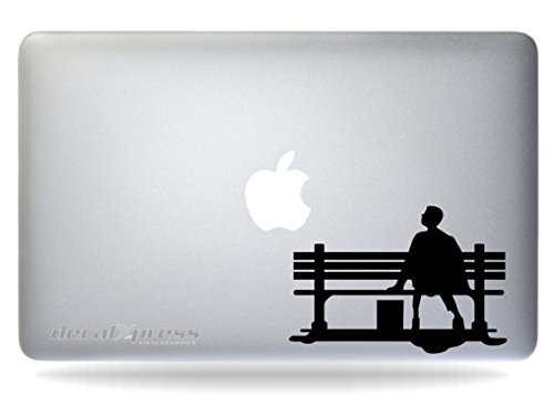 Forrest Gump Sticker Decal MacBook, Air, Pro All Models