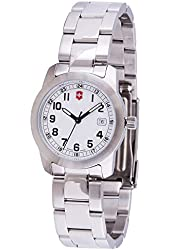 Victorinox Swiss Army Field Collection Womens Stainless Steel Date Watch 26007.CB