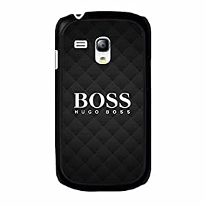 Contracted Hugo Boss Phone Case TPU PC Hard Samsung Galaxy S3 Mini Case Cover Protective Design Luxury Mobile Case