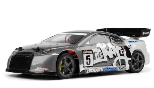 Exceed RC 1/18 Mad Pulse Brushed Race Car Ready to Run (Grey)