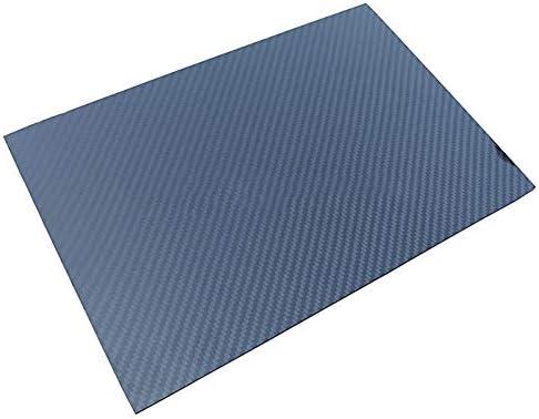 SOFIALXC Carbonfaserplatten Composites Platte 100% Vollcarbonplatte Twill, glänzende Oberfläche Blatt DIY Spielzeug Material Faserplatte für Modellbau-600x600mm-3.5mm