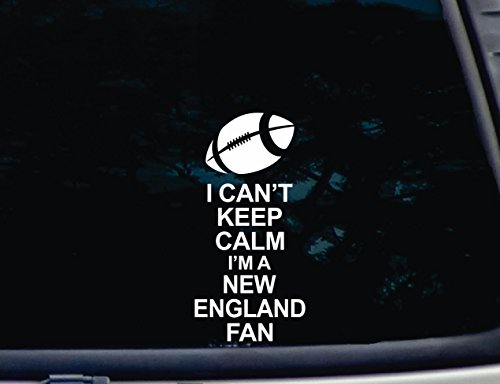 I Can't Keep Calm I'm a NEW ENGLAND Fan - 3 3/4
