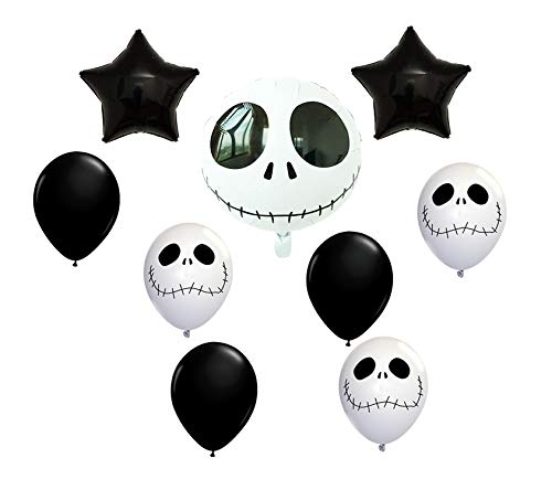 Balloon World Jack Skellington Balloon Halloween Jack Balloon Decoration Kit by Balloon -