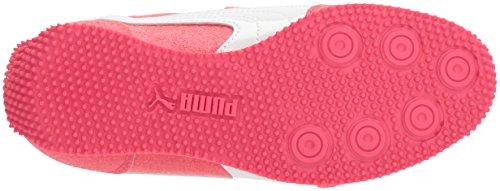 PUMA Girls Whirlwind Glitz V Sneaker, Paradise Pink White, 2 M US Little Kid