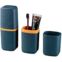 Fortuna Mille Toothbrush Cup Portable Toothbrush Holder Multifunction Travel Cup Organizer Toothbrush Case and Carrier…