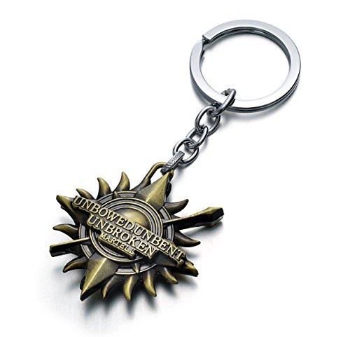 game-of-thrones-house-martell-sigil-crest-metal-keychain-us-seller-sunspear-bronze
