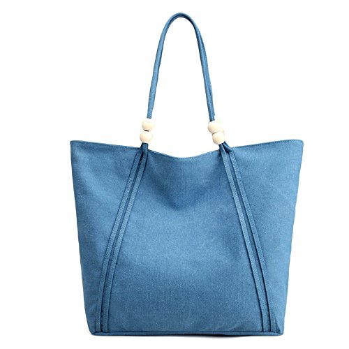 Sac Sac Ordinateur Grand JPFCAK Casual à Provisions Art Main Blue Bandoulière épaule Sac Pouces Sac Ladies à Casual Sac Fashion à 13 4YYxHdF
