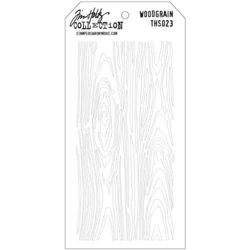 stampers-anonymous-tim-holtz-layered-stencil-4125-inch-by-85-inch-woodgrain