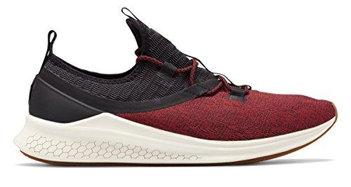 独特のクリケット適用する(ニューバランス) New Balance 靴?シューズ メンズランニング Fresh Foam Lazr Sport Black with Oxblood and Sea Salt ブラック オックスブラッド シー ソルト US 8 (26cm)