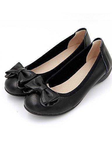 Casual plano us8 rojo Flats redonda mujer de negro uk6 zapatos eu39 de punta PDX talón Beige cn39 black 6qAXz8xw