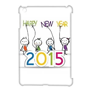 Happy New Year 2015 Cheap Custom 3D Cell Phone Case Cover for iPad Mini, Happy New Year 2015 iPad Mini 3D Case