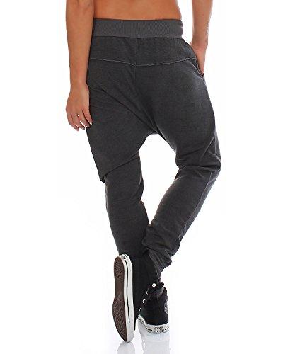 Della Vestibilità Ragazzo D'avanguardia Cotone Di Grigio Ampia Sportivi Larghi Pantaloni Donne Tuta Moda Italy PfaEx