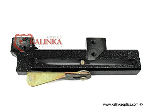 Kalinka Optics POSP AK Bottom Mount w/Black Finish for new POSP scopes and BP-02 Mounts - Hot Swappable! by Kalinka Optics